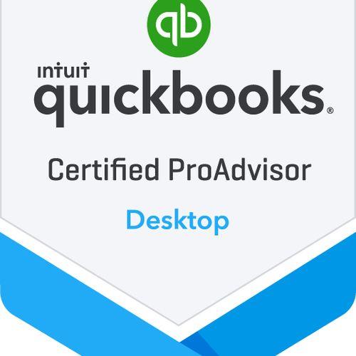 I'm a Certified Proadvisor for Quickbooks Desktop
