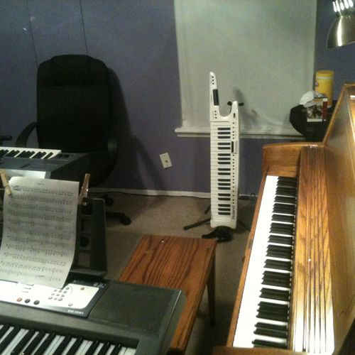 Choose your piano...