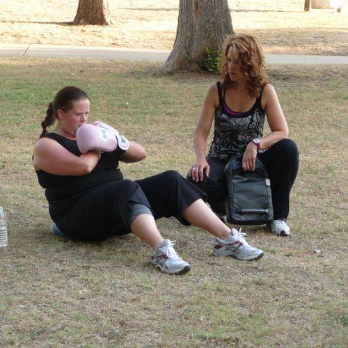 Training at Bear Creek Park, Keller, TX