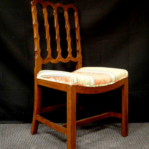 The same chair, after restoration.