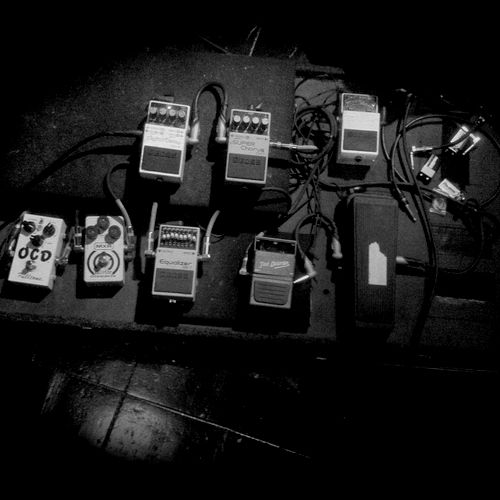 Pedal boards, guitar FX, Signal Flow