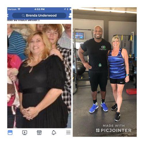 Brenda Lost 100lbs Training at 1 Body SnC