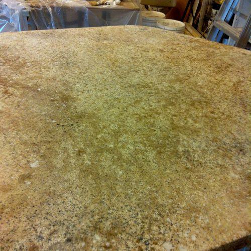 ICoat Concrete Overlay Counter Top