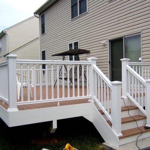 All PVC Deck