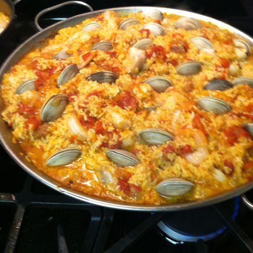 Mmmm Paella!!