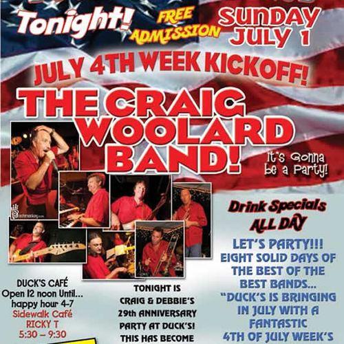 Craig Woolard band promo