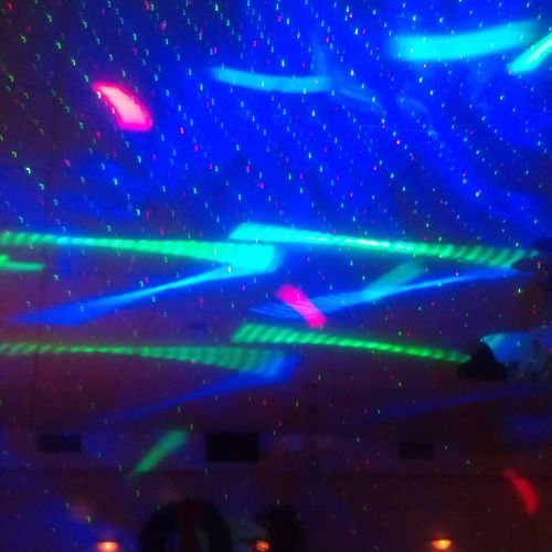 We have State of the Art intelligent LED and Lazer lighting for any occasion!