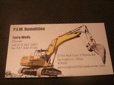 Avatar for PEW Demolition and Excavating, Inc. Springboro, OH Thumbtack