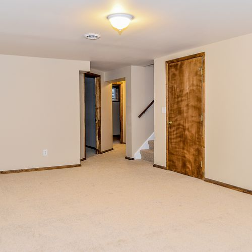 Newly Constructed Finished Basement