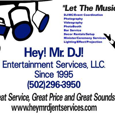 Avatar for Hey! Mr.DJ! Entertainment Services, LLC. Louisville, KY Thumbtack