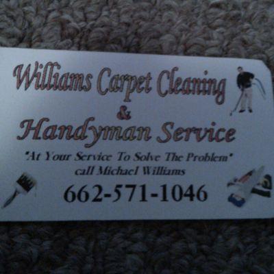 Avatar for Williiams Carpet Cleaning & Handyman Service Yazoo City, MS Thumbtack