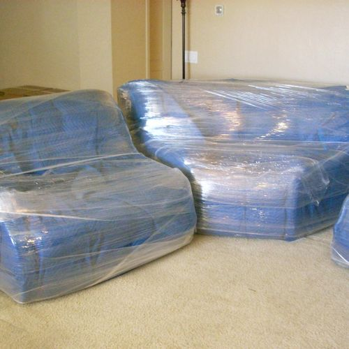 We only wrap the furniture you want us to and give extra fragile or sentimental furniture more attention :)