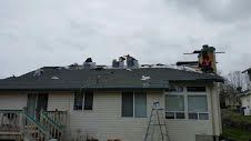 Port Orchard roof replacement. Installing GAF Timberline HD