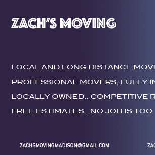 Avatar for Zach's Moving Madison, WI Thumbtack