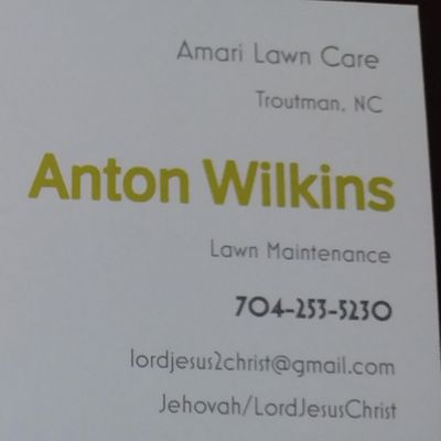Avatar for Amari's lawn care