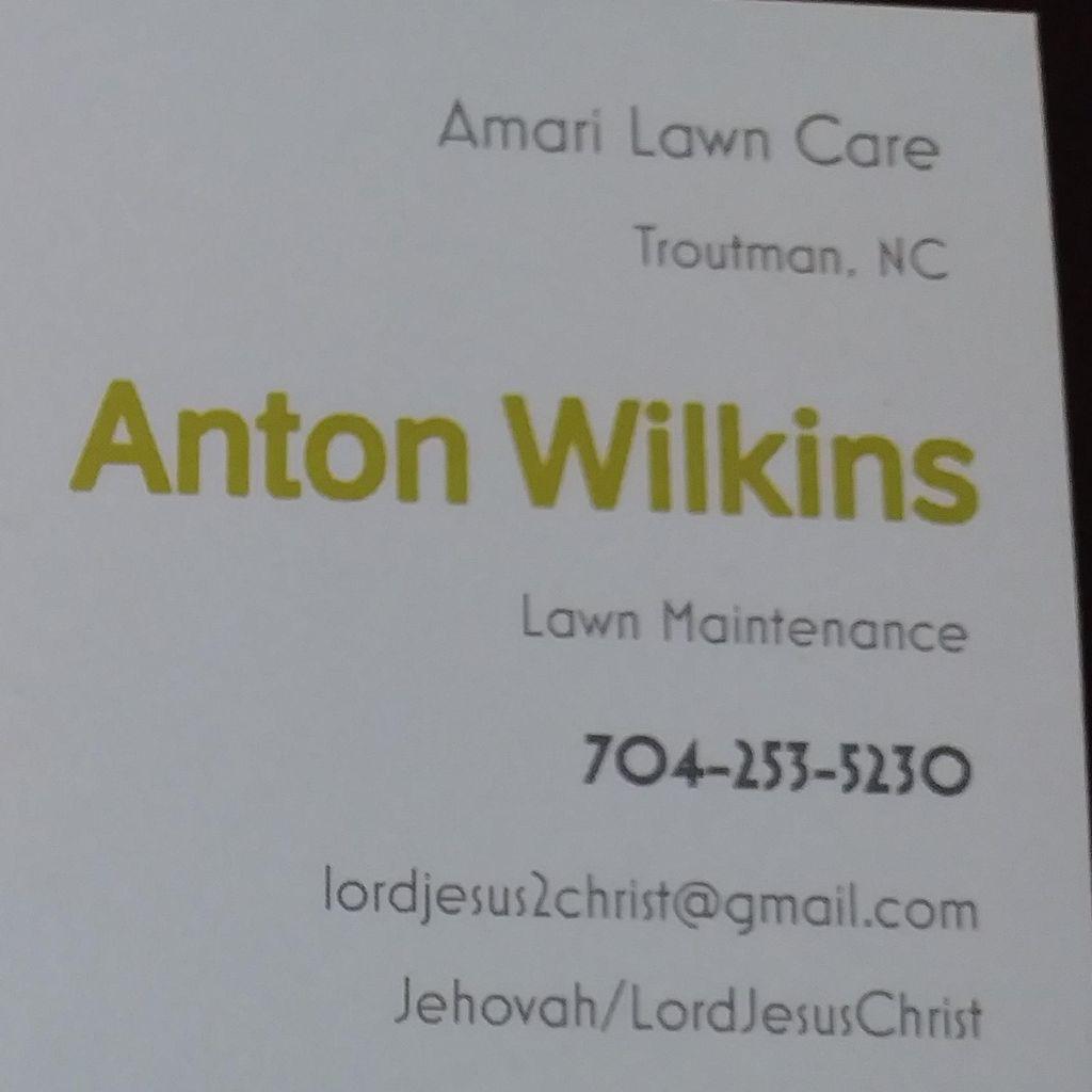 Amari's lawn care