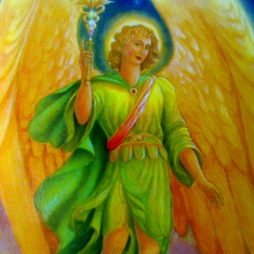 Grounding & Green Flame Healing with Archangel Raphael