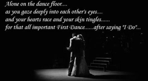 Alone on the dance floor