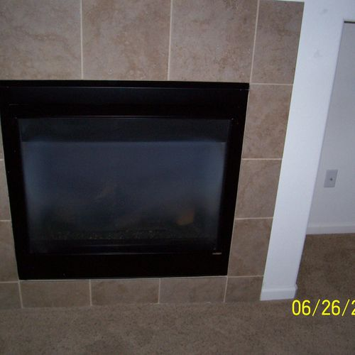 gas fireplaces need servicing once a year by a service technician to insure safety