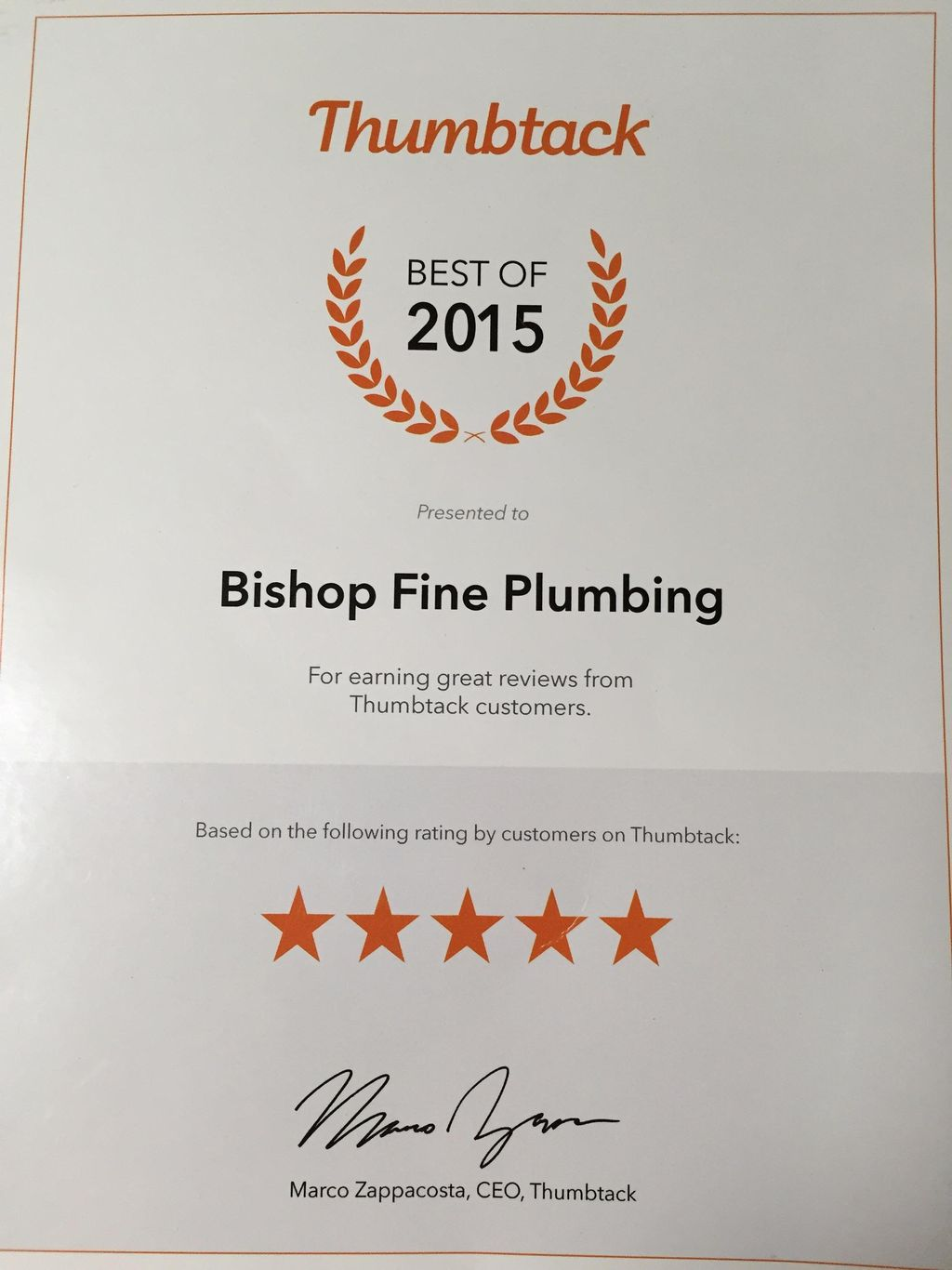 Bishop Fine Plumbing-Water Heater Specialist