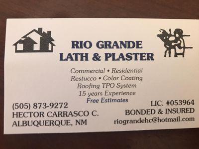 Avatar for Río Grande Lath & Plaster