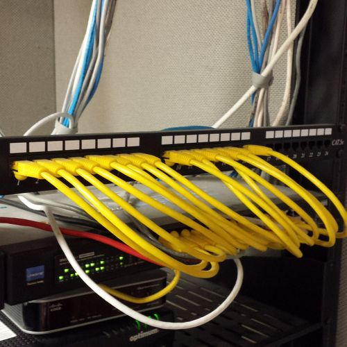 Small business server rack
