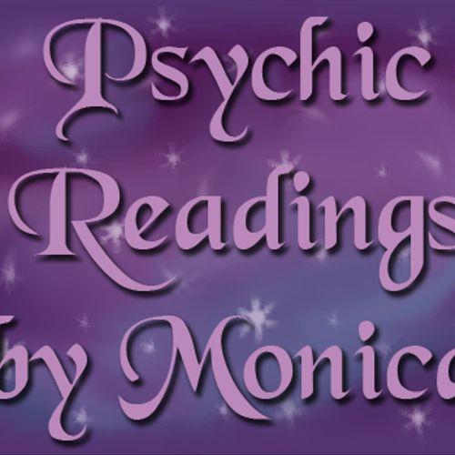 Logo I created for Psychic Readings by Monica. I created & host her website as well. http://psychicreadingsbymonica.com