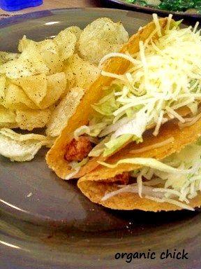 Vegan BBQ Chicken Tacos