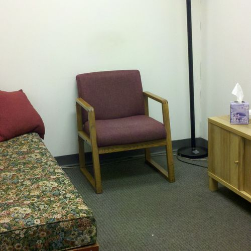 Our office at Integrative Change Hypnosis