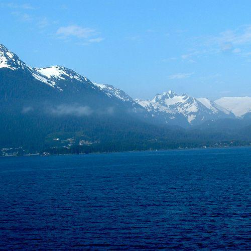 "Sitka, Alaska, May, 2008 cruise on Holland America ""Oosterdam."""