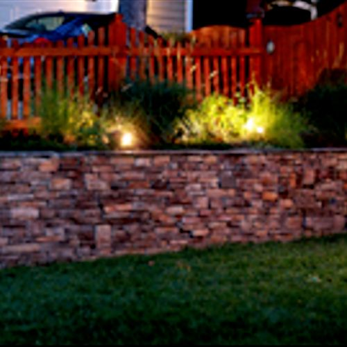 Landscape lighting by Arc Electric