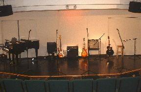 Performance hall stage