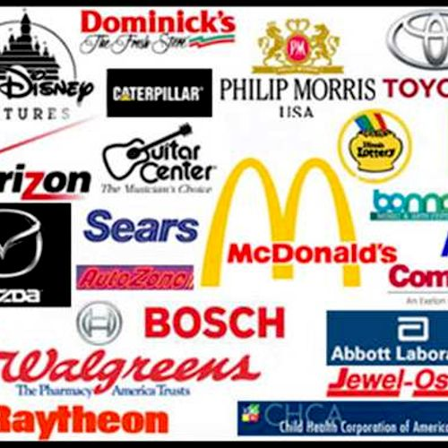 A sampling of some of our corporate clients.  We want to work with you too!