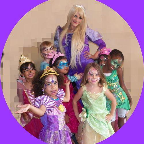 Rapunzel Fashion Show