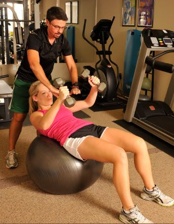 RunnerDude's Fitness believes in multi-joint functional exercise making use of free weights, exercise balls, and resistance bands/tubes not only to build strength and endurance, but flexibility and balance too!