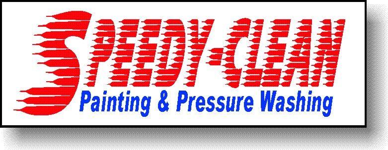 SPEEDY-CLEAN Painting & Pressure Washing