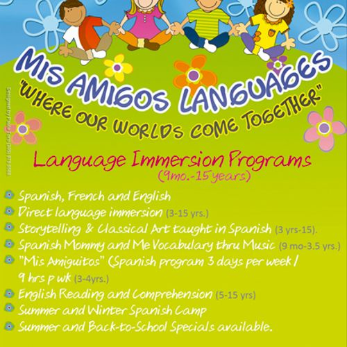 Our Language Immersion Programs