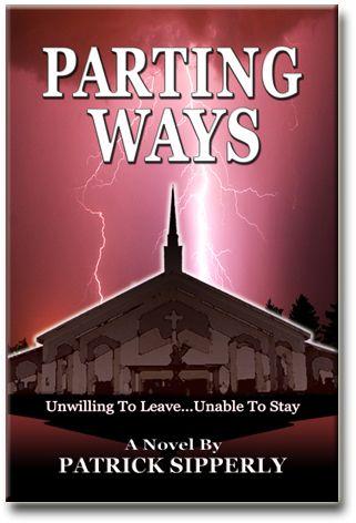 Book Cover design for Parting Ways, A Christian Fiction Novel.