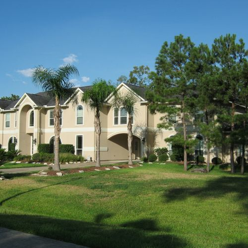 A large house inspected by A Plus Inspections of Texas