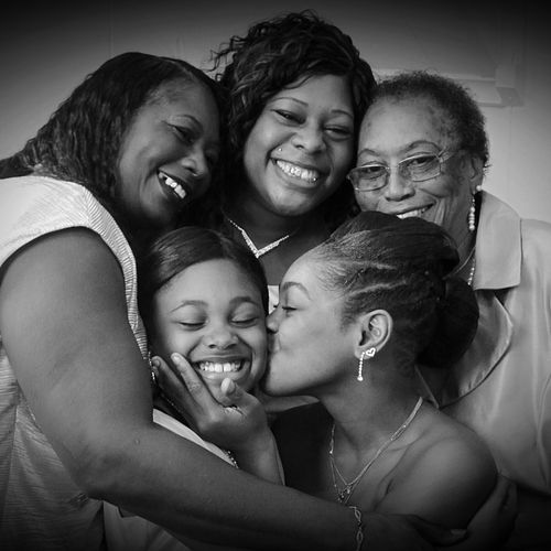 4 generation of ladies