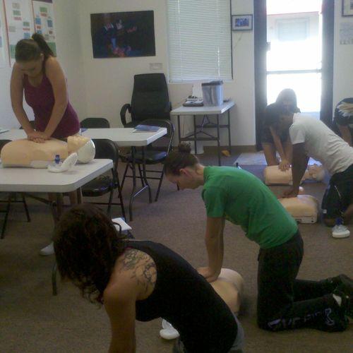 Healthcare Provider BLS Course.