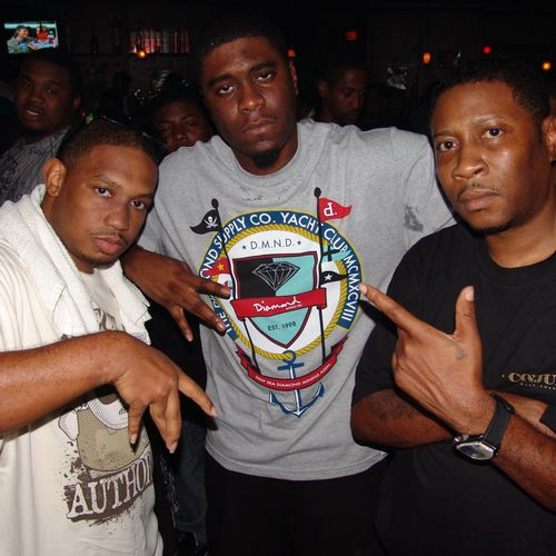 DJ No-Good, Big K.R.I.T., & Scrap Dirty at Listening Party in Jackson, MS