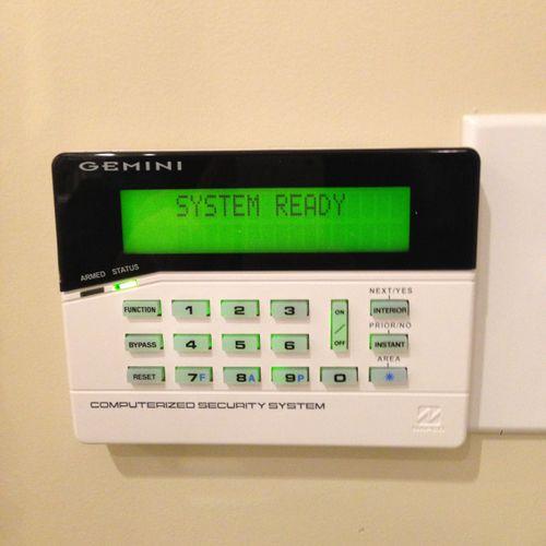 Napco Burglar alarms