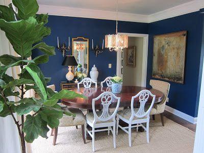 Dining room design by K Interiors.