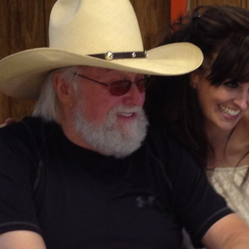 Michelle with Charlie Daniels