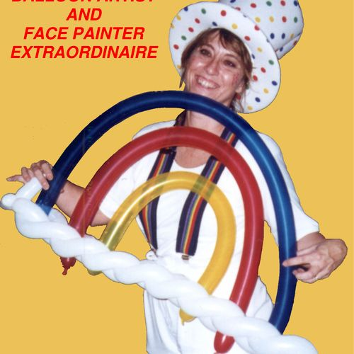 Miss Tammy, Balloon Twister and Face Painter Extraordinaire