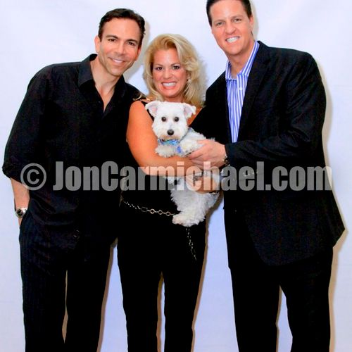 Dr. Bill Dorfman, Jodi Nicholson & James Malinchak for LEAP Foundation Event