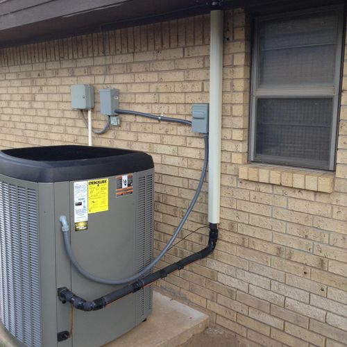 Dave Lennox Signature Series Install in Levelland, TX