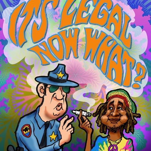 Award-winning cover illustration for Four Corners Free Press -- story about marijuana legalization in Colorado.
