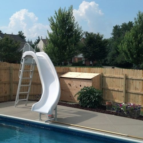 Another fence we built in Novi in Summer 2013